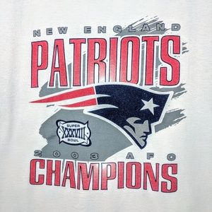 Other - New England Patriots 2003 Championship TShirt